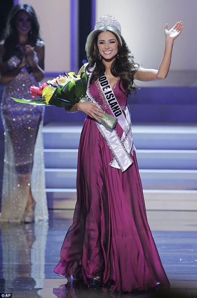 Miss USA 2012-Olivia Culpo  5'7!!!! - Sorry I'm happy about that because I'm 5'7 and was so discouraged because of my height while competing in pageants. =)