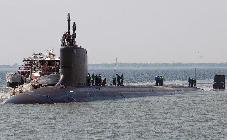USS North Carolina Returns to Home Base