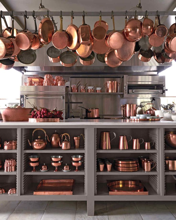 Martha and the Art of Collecting Copper Cookware