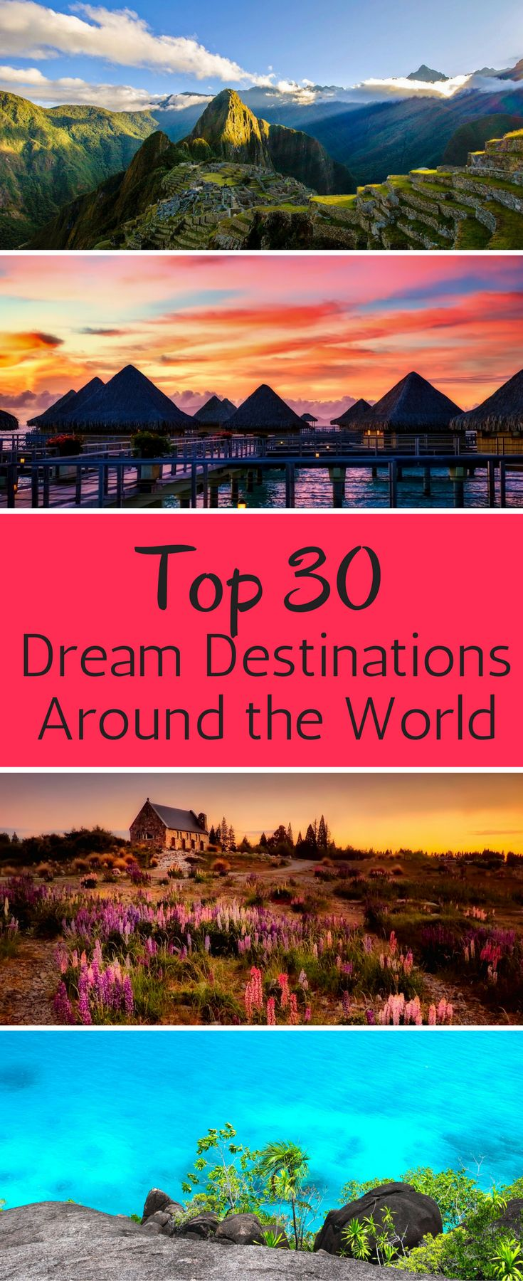 Are these dream travel destinations on your bucket list? Discover the hidden gems that are seriously dream vacation destinations. Vacation ideas. Top vacation spots