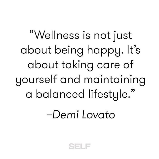 This is so on point—especially for International Day of Happiness. Tap the link in our bio for more from Demi Lovato. | @ddlovato quote from @huffpostlifestyle | #wellness #selfcare