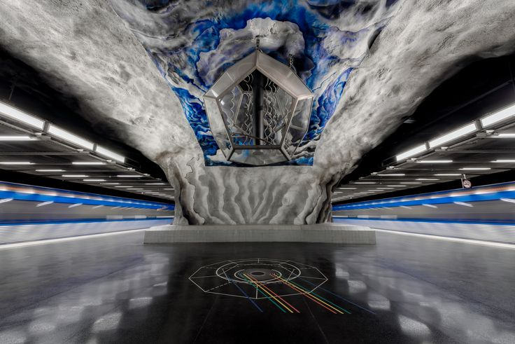 These Photos of Stockholm Metro are Unique