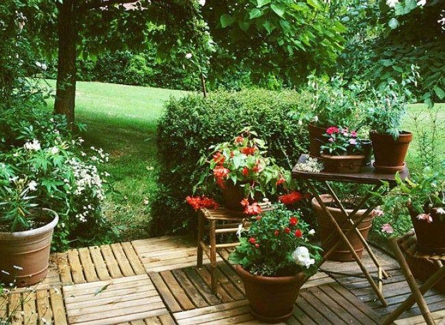monter une terrasse en caillebotis terrasses jardins extérieur jardin