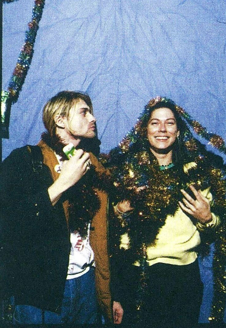 Kurt Cobain & Kim Deal