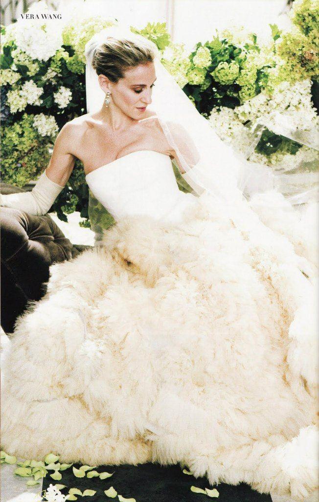 116 best images about sex n the city on pinterest oscar for Sarah jessica parker wedding dress