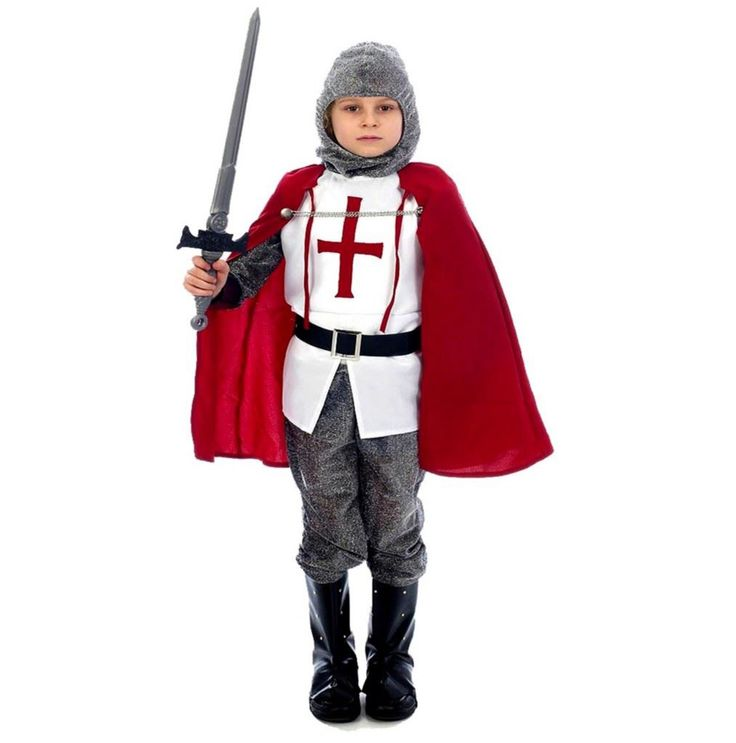 Knight Fancy Dress Costume Kids Small Size Gallery Picture