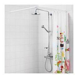 IKEA - GÖMMAREN, Telaio componibile per tenda doccia, , Il bastone per tenda…