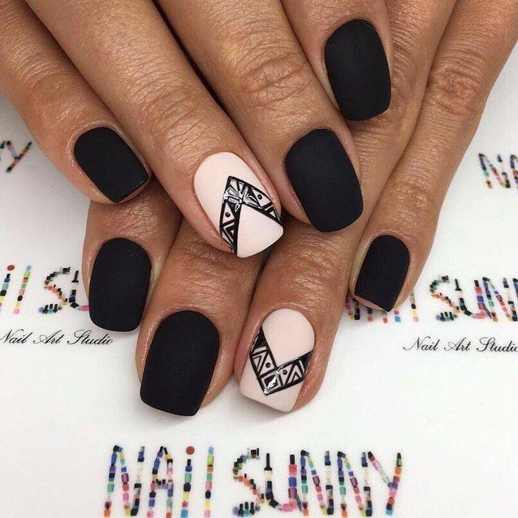 Best Black Nail Polish Reddit: Best 25+ Matte Black Nails Ideas On Pinterest