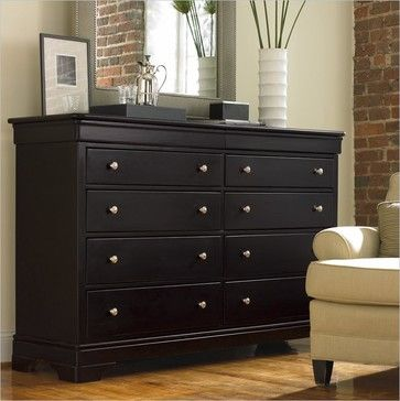 Stanley Furniture Louis Louis Black Opal Double Dresser  traditional dressers chests and. 17 Best images about Chest of Drawers on Pinterest   Furniture