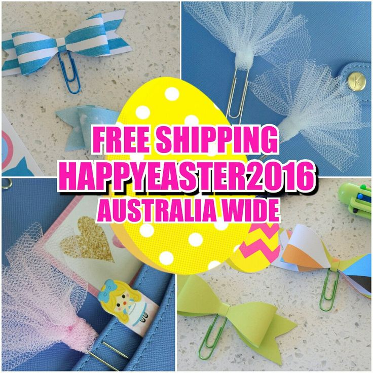 **FREE SHIPPING ALL EASTER LONG WEEKEND!** Use code HAPPYEASTER2016 for free shipping on all orders in Australia between the 25th and 28th March.