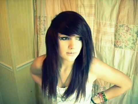 Best Videos Images On Pinterest Emo Hair Emo Hairstyles And - Emo girl hairstyle video