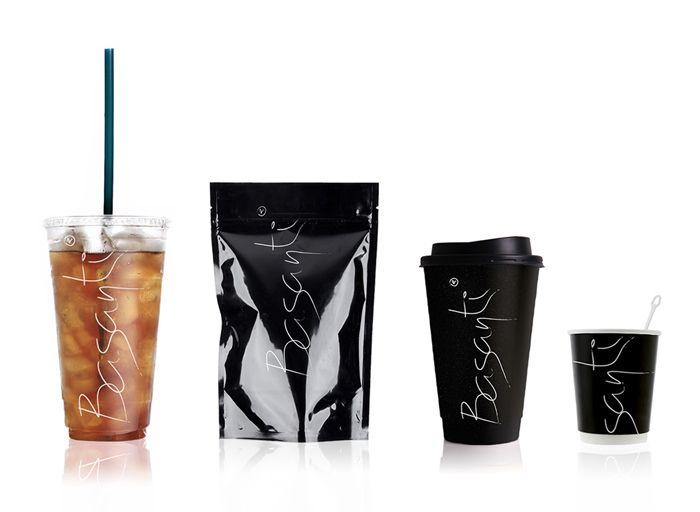 Basanti - The Dieline -: Graphic Design, Identity, Packaging Design, Branding, Basanti Packaging, Tea, Coffee Shop, Creative Package Design