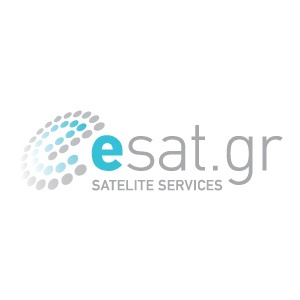 Logo design for esat (Satelite services company)