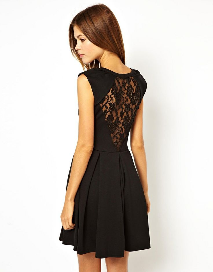A Wear Lace Back Dress