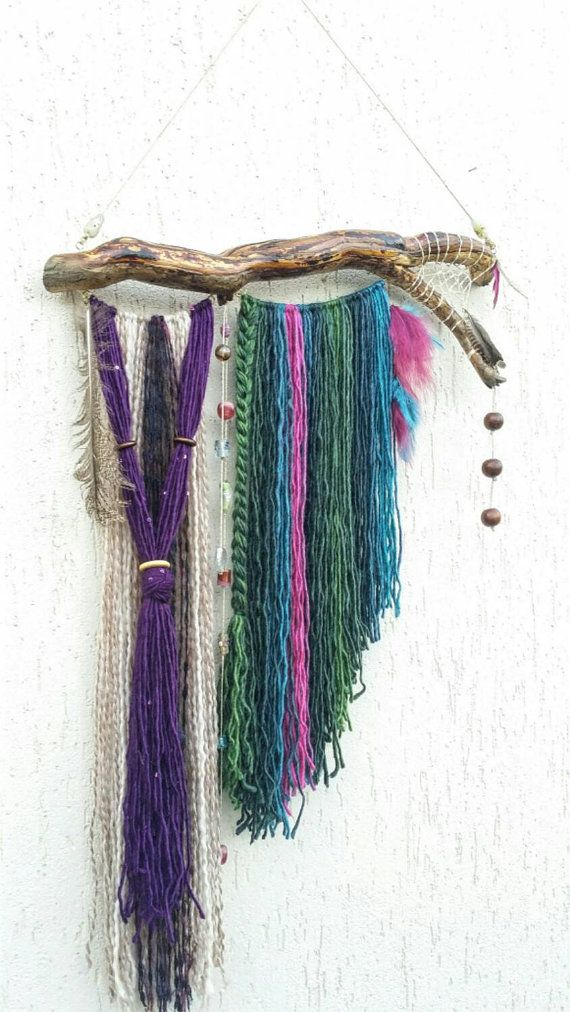 Check out this item in my Etsy shop https://www.etsy.com/listing/234875522/bohemian-decor-gypsy-decor-dream-catcher