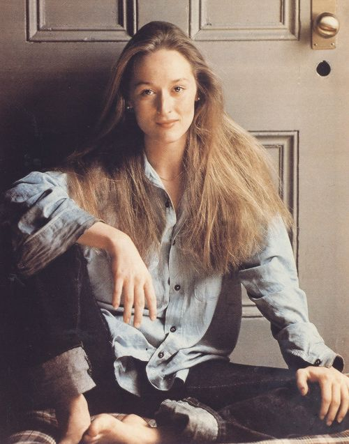 They were showing clips from my earlier films. All I could see was this beautiful young woman who was anxious about whether she was too heavy or if her nose was too big. I felt like saying to her, 'Just relax and it will all be OK.' - Meryl Streep