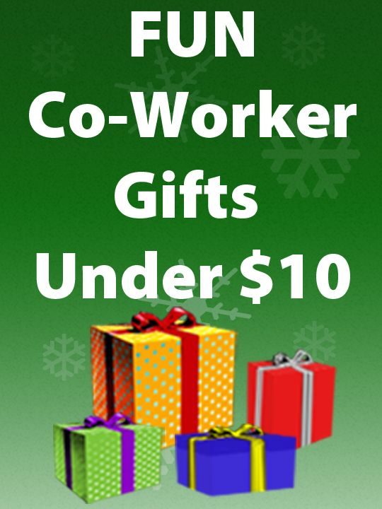 Having a Secret Santa at work? Tons of affordable gifts for your co-workers. www.OfficePlayground.com #cheapgifts #coworkergifts