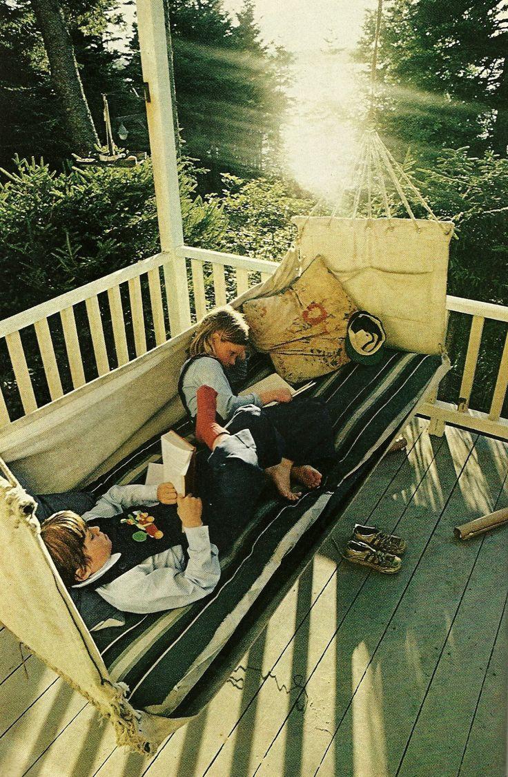 Vacationing children on Squirrel Island, Maine National Geographic | June 1977