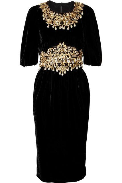 Este es el vestido que pudimos ver en la pasarela de Dolce & Gabbana. Su precio es de 8.750 euros.