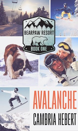 Avalanche Cambria Hebert (BearPaw Resort, #1) Publication date: March 26th 2018 Genres: Adult, Romance, Suspense, Thriller Synopsis: Don't get caught in the surge. Through a bullet hole in a wall, …