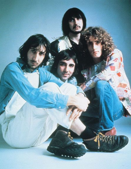 the who. pete's boots.