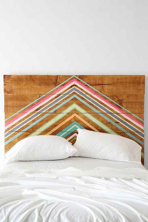 Oh My Wood! Pyramid Headboard