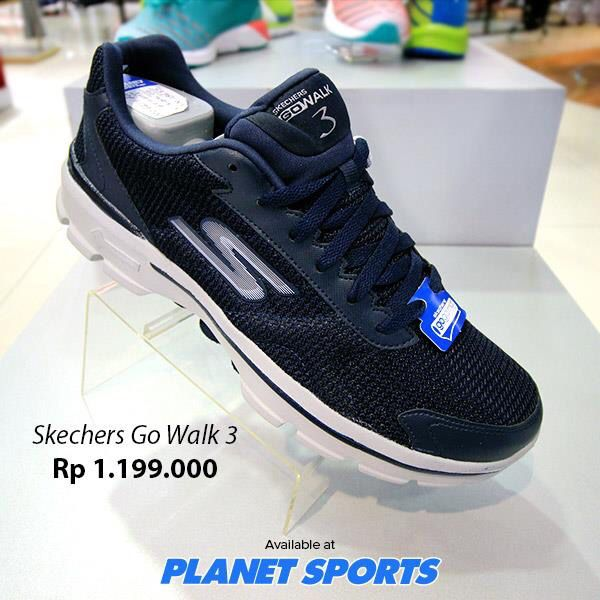 Skechers Go Walk 3 at Planet Sports