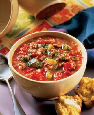 Mediterranean Soup | Soyconnection