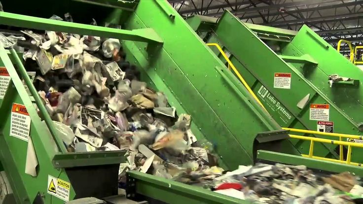 Waste Management Single-Stream Recycling: Take a tour of our Philadelphi...