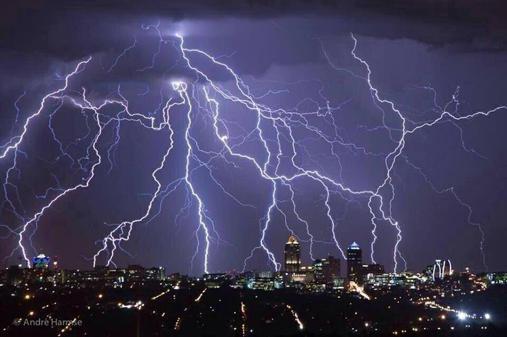 Home. Thunderstorms in Sandton, Joburg. South Africa