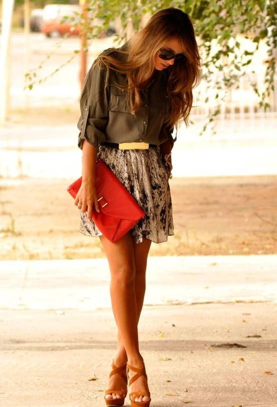 Ana jacobs - awesome combination ! http://hotwomensclothes.com