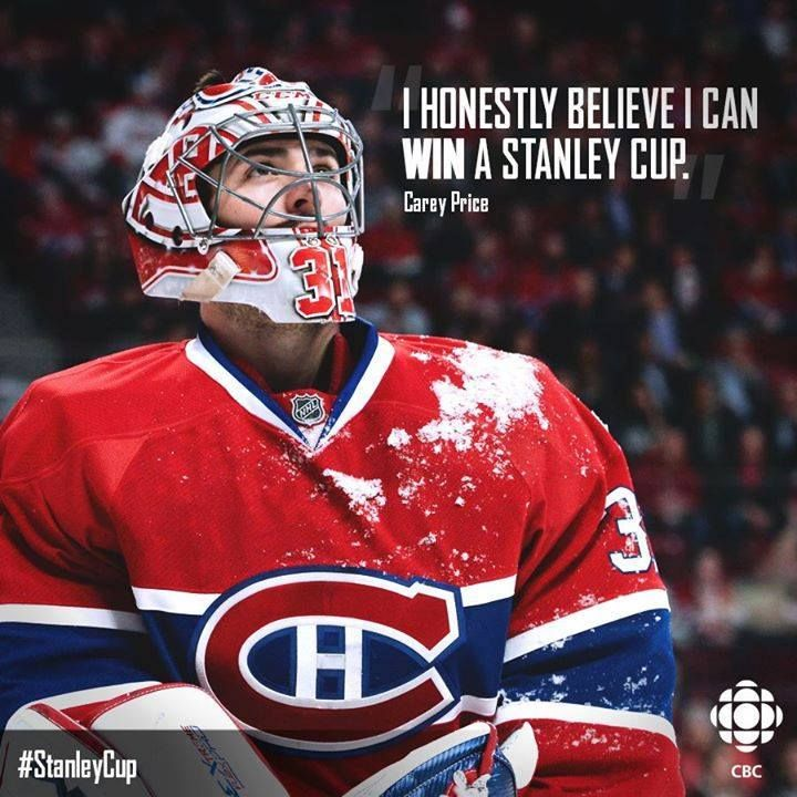 Congrats on the record breaker! Carey Price..... you're the man!!! #HabsNation #2015 StanleyCupChampions :D