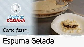 espuma gelda de chocolate - YouTube