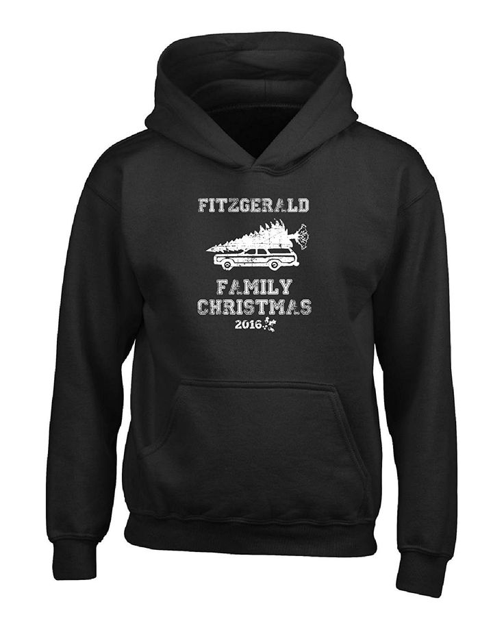 Fitzgerald Family Christmas 2016 Gift For The Holidays - Boys Hoodie *** More info could be found at the image url.