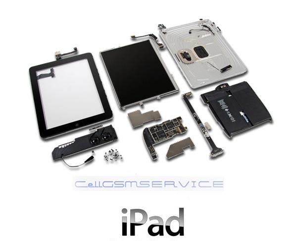 Service iPad hardware