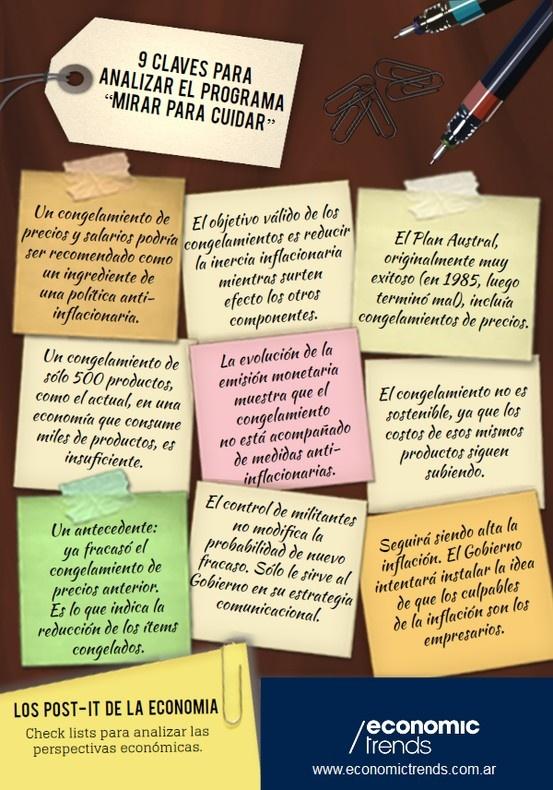 """9 Claves para Analizar el Programa """"Mirar para Cuidar"""". #EconomicTrends #Infografía. Más en www.economictrends.com.ar"""