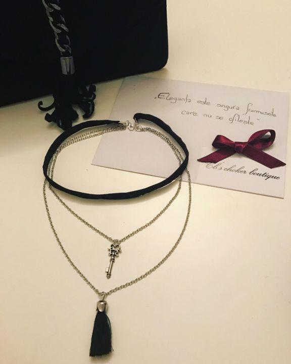 30 LEI | Coliere handmade | Cumpara online cu livrare nationala, din . Mai multe Bijuterii in magazinul Cbchoker pe Breslo.