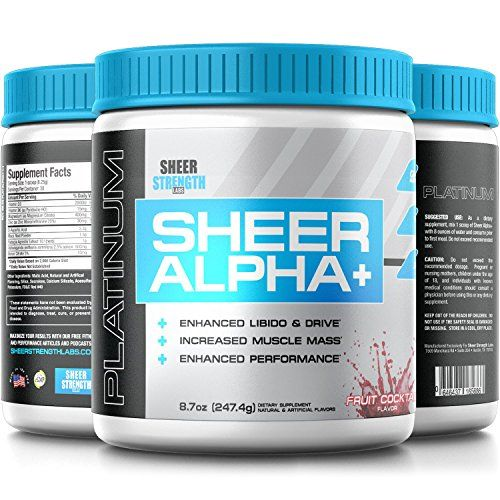 Testosterone Booster Supplement for Men  Sheer ALPHA PLUS 30 Testosterone Boosting Servings Fruit Cocktail Flavor 2474 grams -- See this great product.  This link participates in Amazon Service LLC Associates Program, a program designed to let participant earn advertising fees by advertising and linking to Amazon.com.
