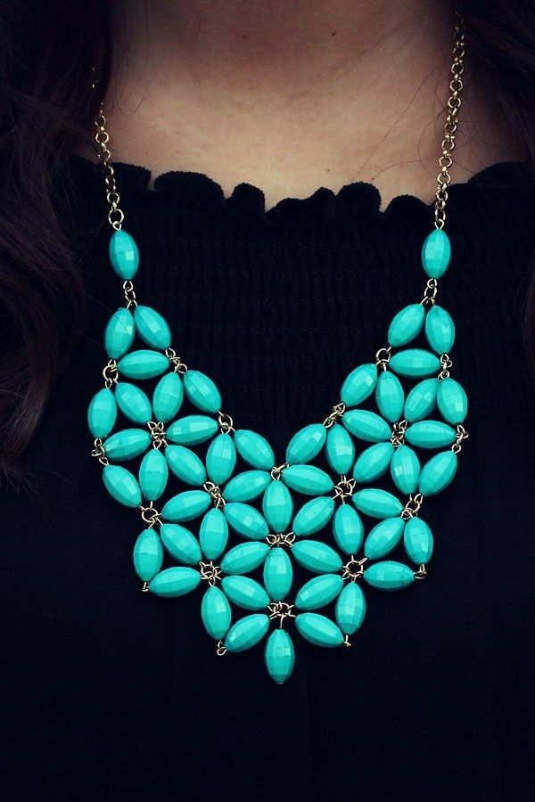 #joyeria #collar #necklace #jewellery #turquesa