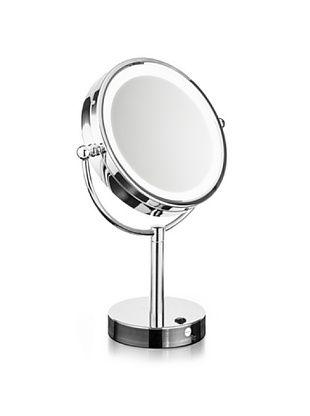Macom Doppio Specchio da Trucco con Luci a Led Zenith 214