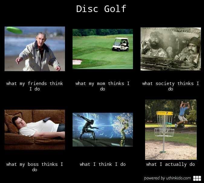 Disc golf in a nutshell.