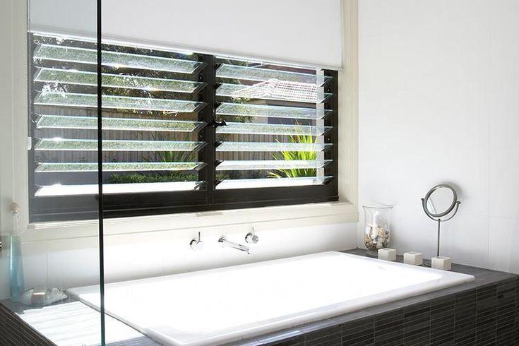 bath louvre windows