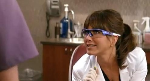 ProDental Staff loves Jennifer Aniston's role in 'Horrible Bosses' as Dr. Harris.   She definitely gives new meaning to the fear of the dentist..