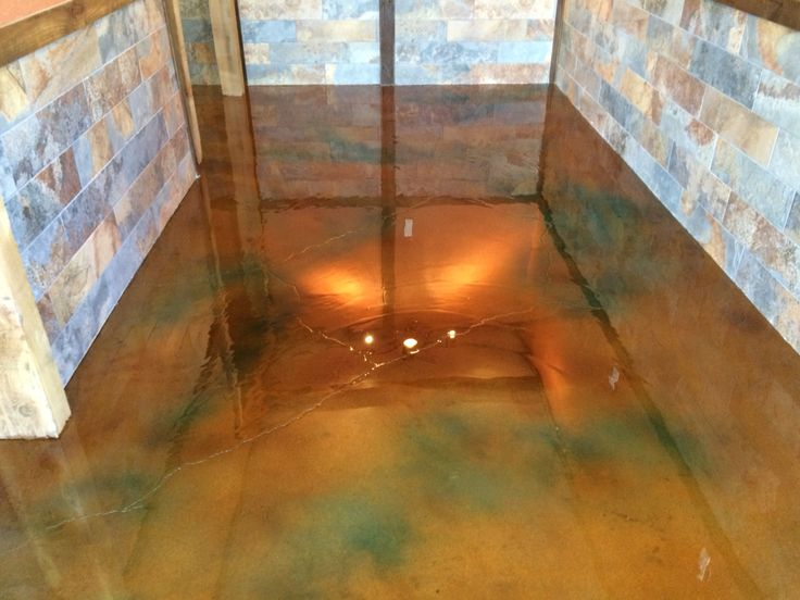 31 best images about interior concrete staining on pinterest - Interior concrete floor stain colors ...