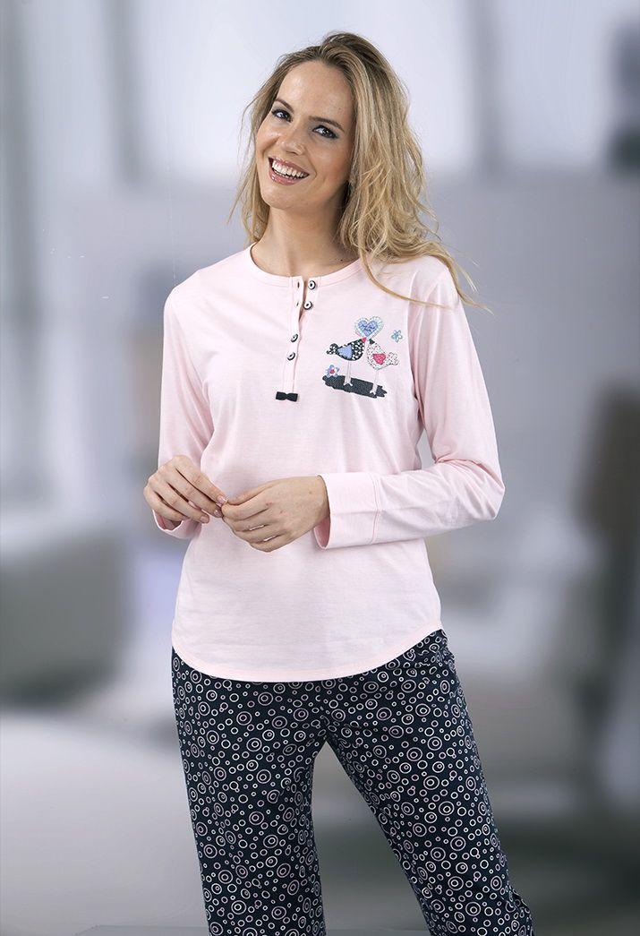Pijama mujer 100% algodón Massana