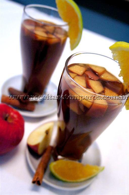 Chá de hortelã gelado com especiarias | Receitas e Temperos