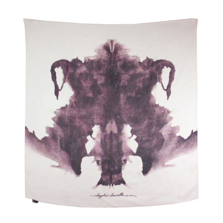 The Rorschach Test Ink Blots Plate 4 Poster Created By Inquester Order As Shown Or Change Print Size Paper Type Add Custom Framing