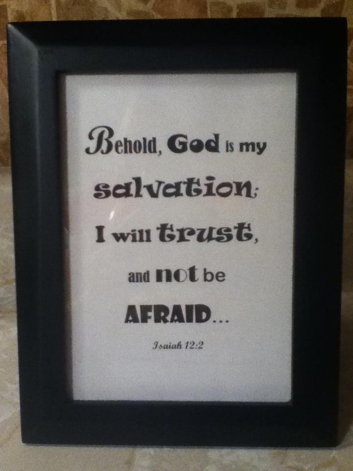 Picture Frame With Bible Verse Bible Pics Pinterest