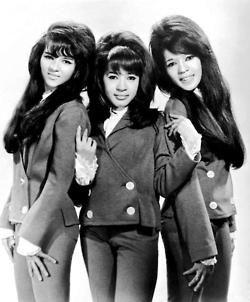 The Ronettes... Veronica Bennett (Spector), Estelle Bennett, and Nedra Talley. #classic60smusic