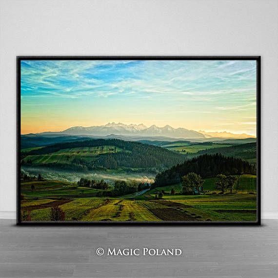 Mountain Landscape Printable Digital Download Digital